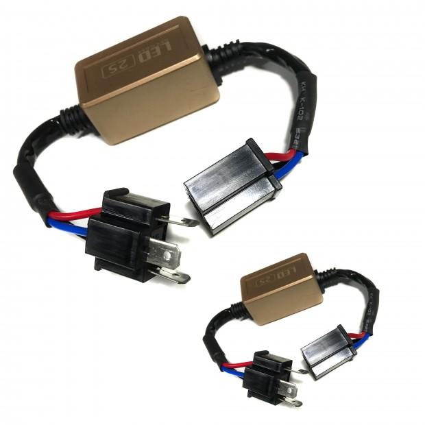 Canceladores de l'échec de la lumière fusionné pour KIT LED H4