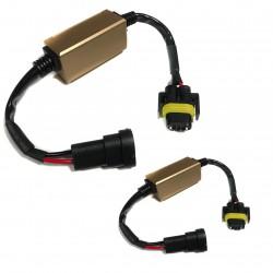 Canceladores de l'échec de la lumière fusionné pour KIT LED H11 / H8 / H9 / 9012