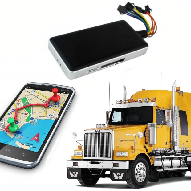Localisateur gps camion Scania