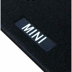 Floor mats with logo Mini...