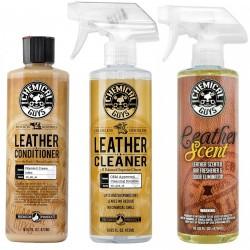 Kit de nettoyage cuir -...