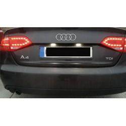Plafones LED de matrícula Audi A4 B8 (2009-2014)