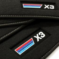 Floor mats, Premium BMW X3...