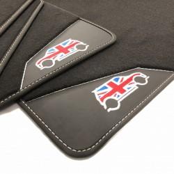 Floor mats, leather Mini...