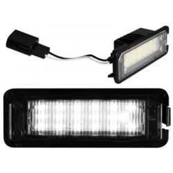 Wand-und deckenlampen, LED-kennzeichenbeleuchtung Volkswagen Passat B7 und CC (2010-2014)