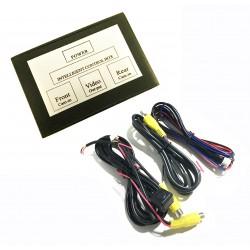 Comvertidor de sinal para a Câmera traseira e dianteira com interruptor