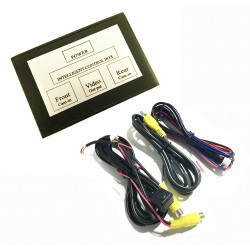 Comvertidor de señal para Cámara trasera y delantera con interruptor