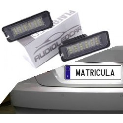 Plafones LED de matrícula Volkswagen Passat B7 y CC (2010-2014)