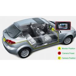 Kamera Heckklappe für Kofferraum Volkswagen-und Audi - Typ 4