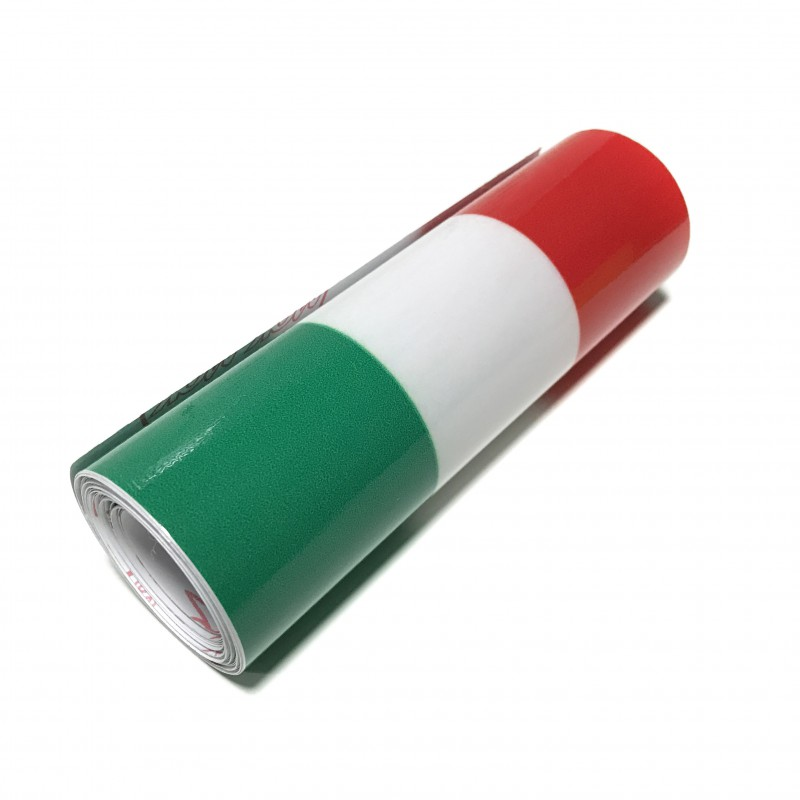 Sticker flag of Italy (1 meter)