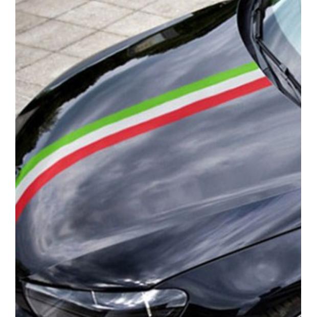 Autocollant drapeau de l'Italie (1 mètre)