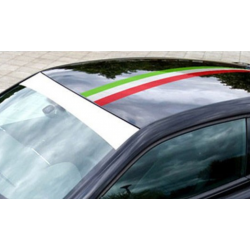 Sticker flag of Italy (1 meter)