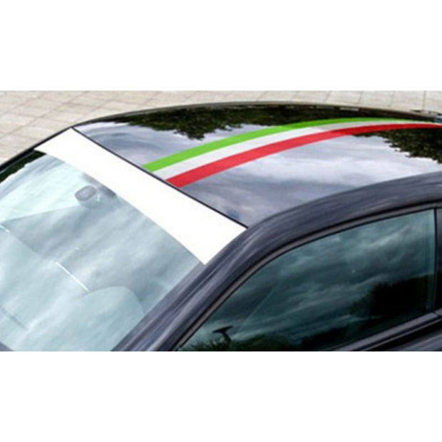 Adesivo bandeira da Itália (1 metro)