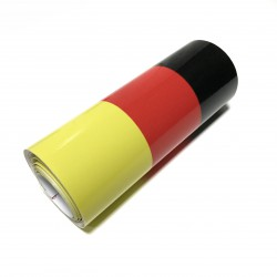 Pegatina bandera Alemania (1 metro)