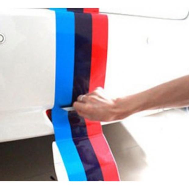 Autocollant drapeau BMW Motorsport
