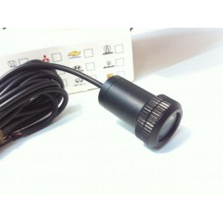 logo laser diodo emissor de luz volkswagen
