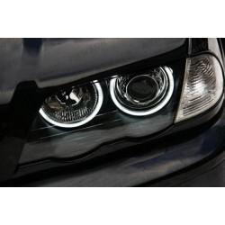 Aros CCFL BMW E46 E36 E38 E39 e (Farol xenon 1998-2003)