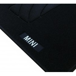Floor mats Mini Cooper logo-2001-2008