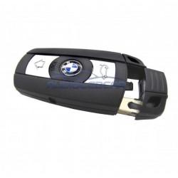 Logement pour clé BMW 2006-2013 (Série 1, 3, 5 E81 E87 E90 E91 E92 E60 E61 X1 X5 E70)