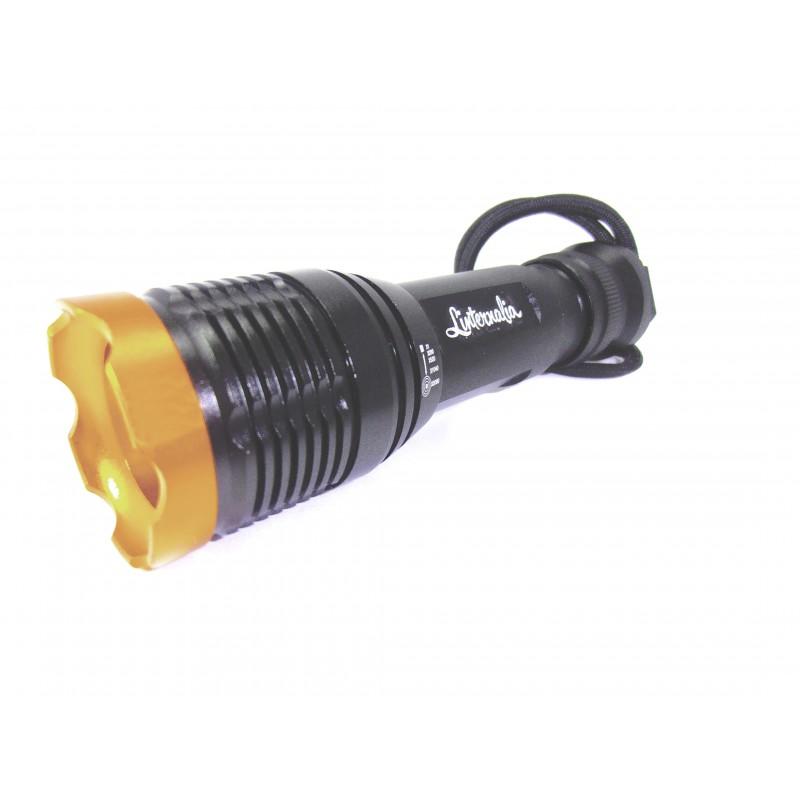 Linterna led de mano 1800 lm tipo 1 de calidad for Linterna de led potente