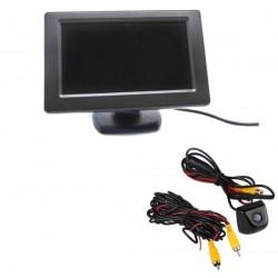 """Kit-Bildschirm parkplatz 4,5"""" + Kamera rückfahrkamera"""