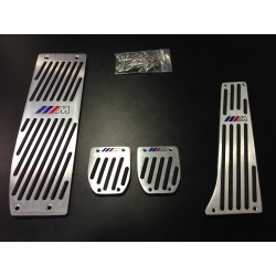 Pédales en aluminium pour BMW Pack M (Manuel)