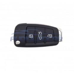 Carcaça chave Audi Q5 Q7 S5 A1 A2 A3 A4 A6 A8 S3 S4 S6 S8