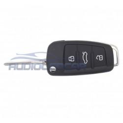 Carcasa llave Audi Q5 Q7 S5 A1 A2 A3 A4 A6 A8 S3 S4 S6 S8