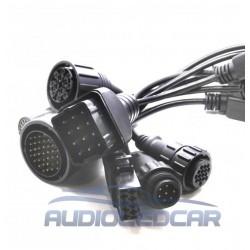 Pack de cabos e adaptadores Multimarca CAMINHAO