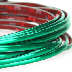 Green strip-GTI-Stil