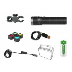 Kit hunting flashlight...