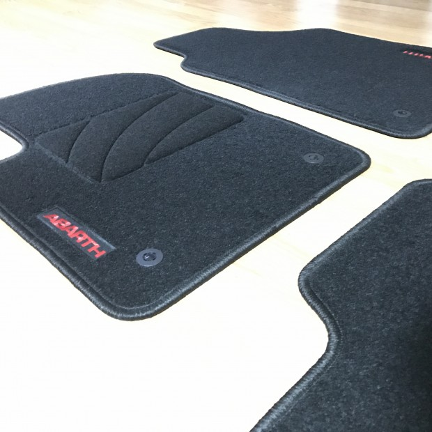 Floor mats, fiat 500