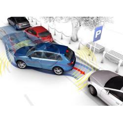 Oito sensores de estacionamento