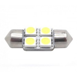 Bulbo claro do diodo EMISSOR de luz c5w festoon 31 mm - TIPO 4