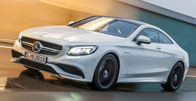 Mercedes-Benz S 63 AMG Coupé  (C 217) 2014; designo diamantweiß bright; designo diamond white bright