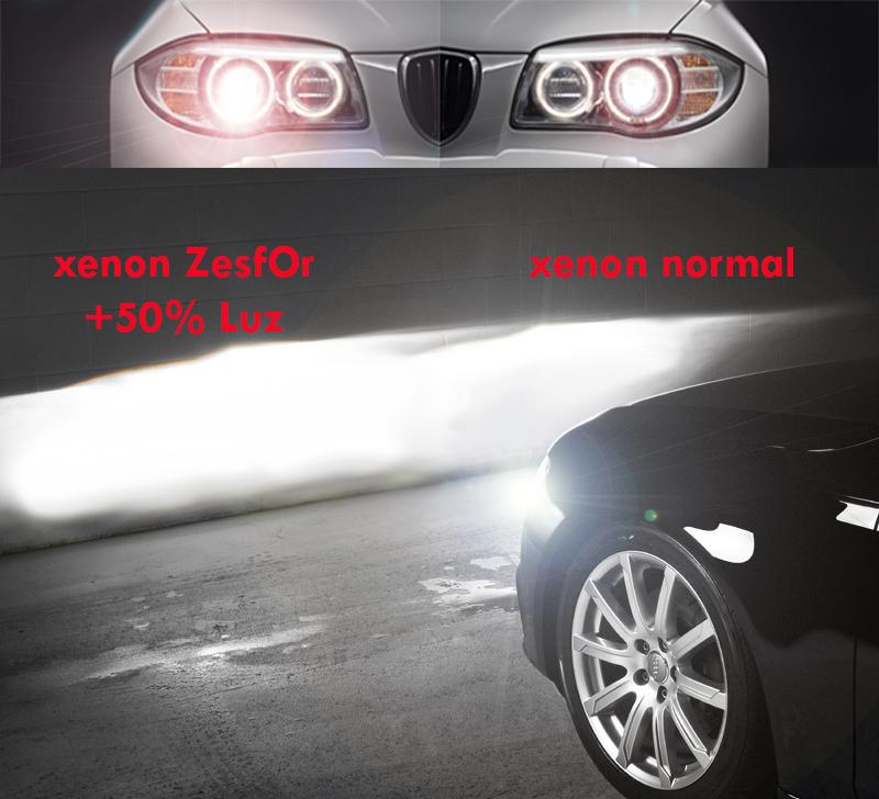 Bombillas xenon zesfor d2s audioledcar blog - Como pulir faros de coche ...