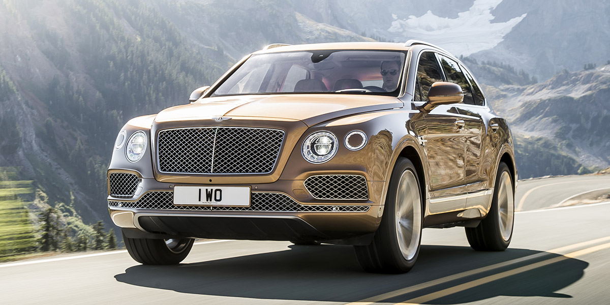 Bentley Bentayga(1)