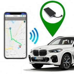Sie installieren GPS-Locator mit dem Auto. Locator Fahrzeuge In Echtzeit