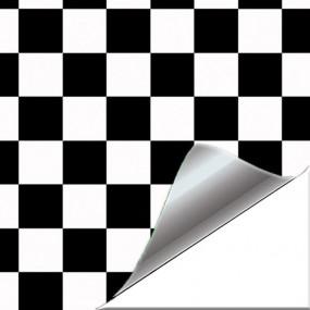 Vinil adesivo Xadrez estilo Mini para Carro e Moto