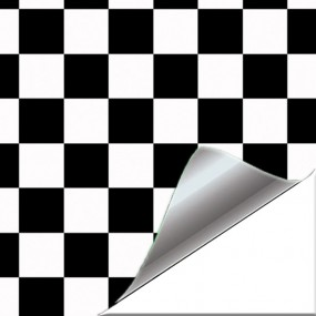 Sticker Vinyl Chess Mini style for Car and Bike