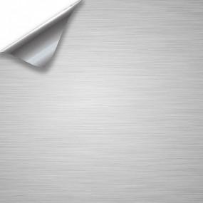 Adesivo in Vinile in Alluminio Spazzolato per Auto e Moto
