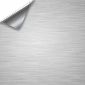 Pegatina Vinilo Aluminio Cepillado para Coche y Moto