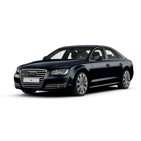 Floor mats as Audi A8 Velour and Rubber