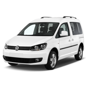 Mats as Volkswagen Caddy Velour and Rubber