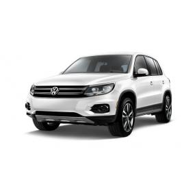 Tapis pour Volkswagen Tiguan en Velours et en Caoutchouc