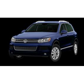 Mats as Volkswagen Touareg Velour and Rubber