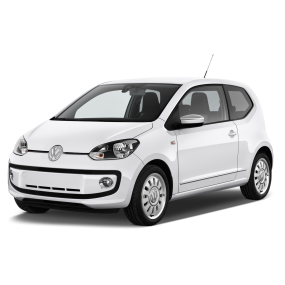 Mats as Volkswagen Up Velour and Rubber