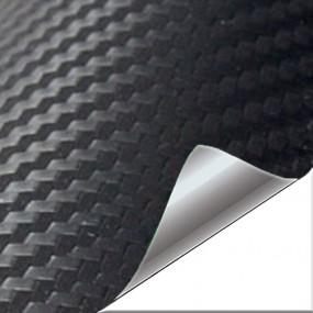 Adesivo de Vinil Carbono Fosco Preto para Carro e Moto