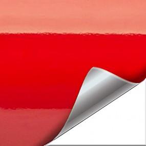 Aufkleber aus Vinyl, Rot Glanz für Auto und Motorrad - Angebot 20%