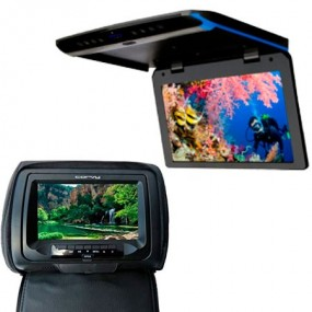 Monitores e telas para instalar no carro - KIPUS